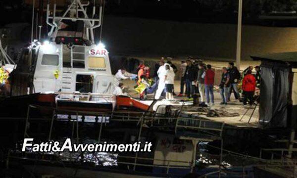 Lampedusa. Raffiche di arrivi ma all'alba una barca di migranti si ribalta: il bilancio è di 7 vittime e 9 dispersi