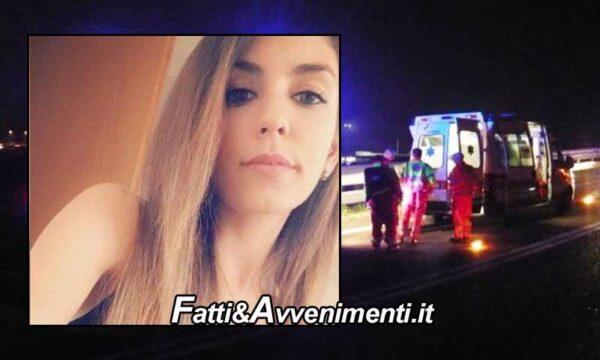Messina. Perde il controllo dell'auto si schianta sul guard rail e vola giù dal viadotto: muore 29enne