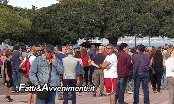 """Messina, in piazza il """"NO Paura Day"""". Il Magistrato no-mask: """"E' dittatura, basta vaccini e lockdown"""""""