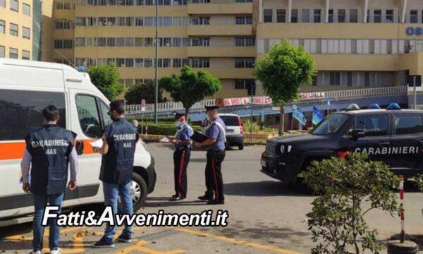 Caltagirone. Nas sequestrano 3 ambulanze: erano prive di autorizzazioni sanitarie e di requisiti di sicurezza