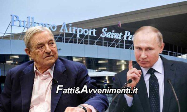 Russia. Putin dà la caccia agli uomini di Soros: arrestato direttore Open Russia