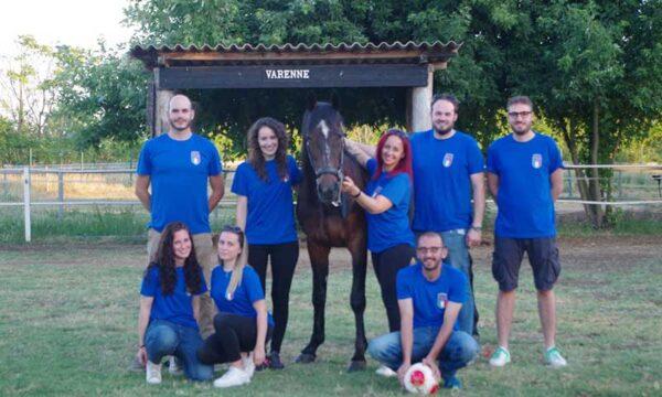 """Anche """"Varenne"""", il cavallo supercampione del trotto italiano  stasera tifa per la Nazionale"""
