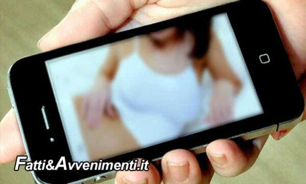 Catania. Arrestato 27enne: ricattava ragazzine in chat per avere foto o video osè