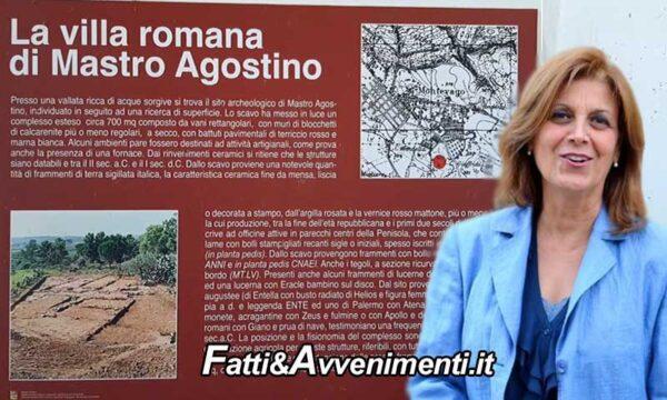 """Montevago (AG). Zona archeologica """"Villa Romana"""": fruibile entro l'estate"""