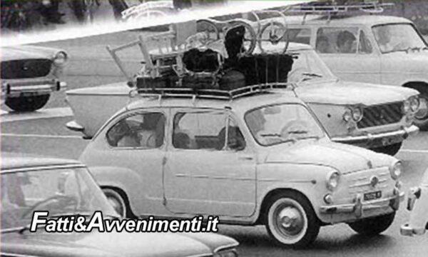 Storie di Sicilia. Il primo ferragosto fuori porta con la mitica Fiat 750 Giannini… correva l'anno 1965