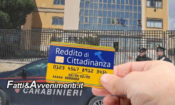 Nell'agrigentino beccati 77 soggetti italiani e stranieri percettori del reddito di cittadinanza