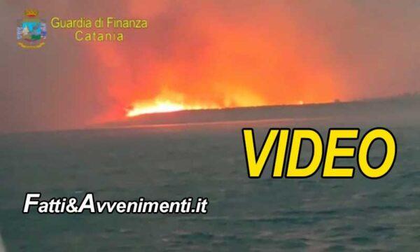 """Catania. Inferno di fuoco: salvate 37persone, case evacuate e distrutto il noto lido """"Le Capannine"""""""