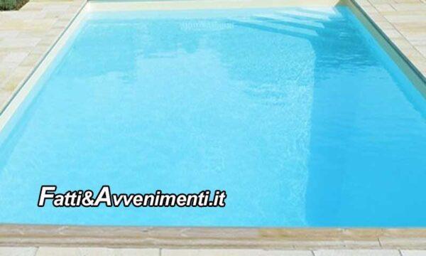 Trabia (PA). Bimba di 5 anni muore annegata nella piscina di casa: inutile la corsa in ospedale