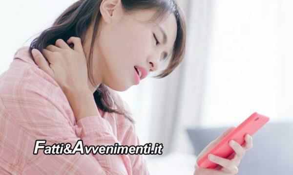 Salute & Benessere. Smartphone e cervicalgia: la sindrome text-neck