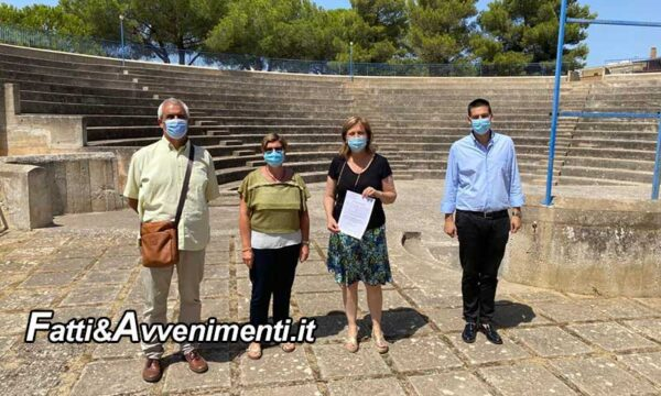 Montevago. Restyling dell'anfiteatro comunale: da oggi via ai lavori
