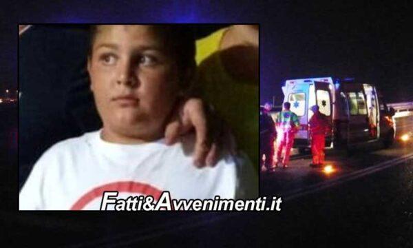 Palma di Montechiaro. Cade dallo scooter su un tondino di ferro che lo infilza: perde la vita un 14enne