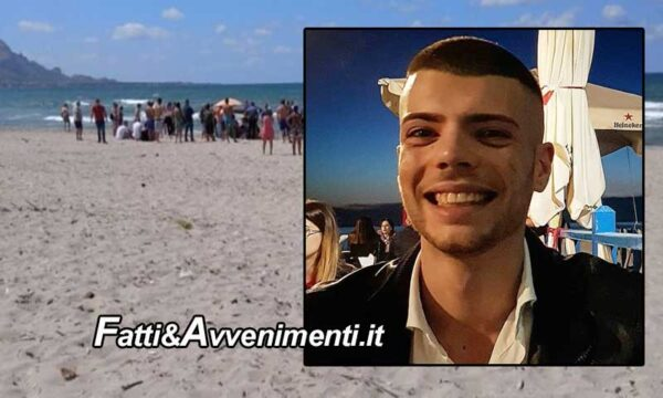 Capaci (PA), 4 ragazzi si tuffano nonostante il mare agitato: muore un 23enne, salvati gli altri tre