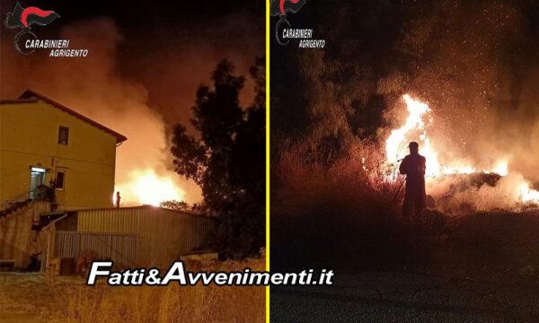 Cammarata (Ag). 70enne beccato mentre appicca il fuoco vicino bosco: arrestato, rischia 10 anni