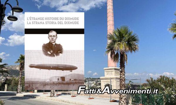 """Sciacca. Venerdì presentazione de """"La strana storia del Dixmude"""", Monte: """"Almeno sistemate il faro sul monumento"""""""