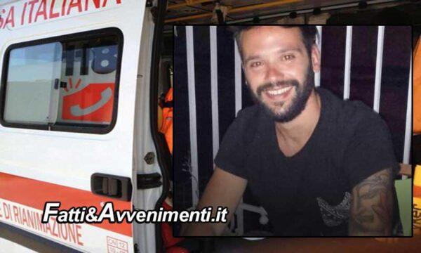 S.Croce Camerina (RG). Tamponamento tra due auto: perde la vita un giovane di 29 anni sbalzato fuori dall'abitacolo