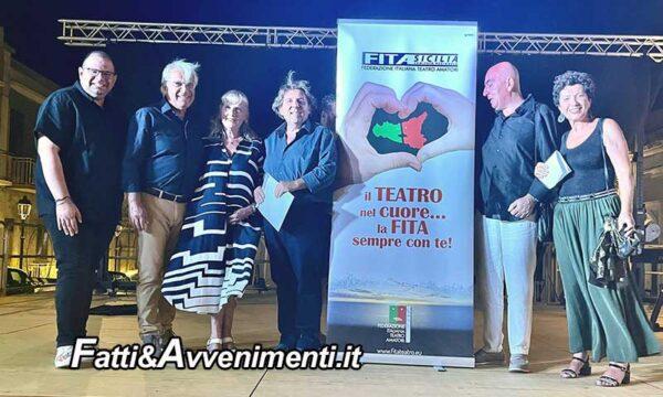 """Canicattini Bagni (SR).  Premio """"Teatro Ulisse 2021"""", Salvatore Monte in giuria: """"Ringrazio tutti di vero cuore"""""""