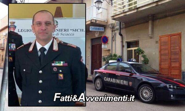 Calamonaci (AG). Malore improvviso: muore in caserma il comandante dei carabinieri Giuseppe Sabella