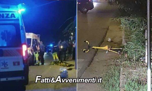 Pozzallo (RG). Auto travolge ciclista 33enne che muore sul colpo, poi fugge: è caccia al pirata