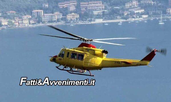 Brescia. Auto cade nel lago, vietato l'intervento all'elicottero dei soccorritori: non hanno il green pass