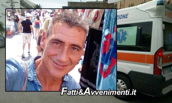 Palermo. Infarto improvviso: muore a 55 anni Giuseppe Pirrotta sindacalista della Fiom