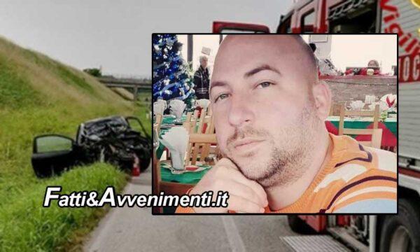 Santa Flavia (PA). Scontro fra un'auto e un camion: perde la vita un 35enne