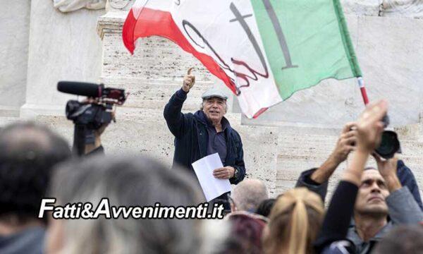 Montesano da Roma lancia l'idea di un movimento che rappresenti i milioni di contrari al green pass