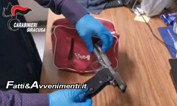 Siracusa. Beccato con 14 mila euro in casa dopo aver lanciato dal balcone borsa con armi illegali: arrestato