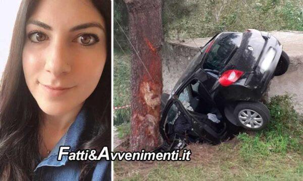 Lipari. Auto si schianta su albero: muore una 26enne e 4 feriti di cui 2 gravissimi trasferiti in elisoccorso