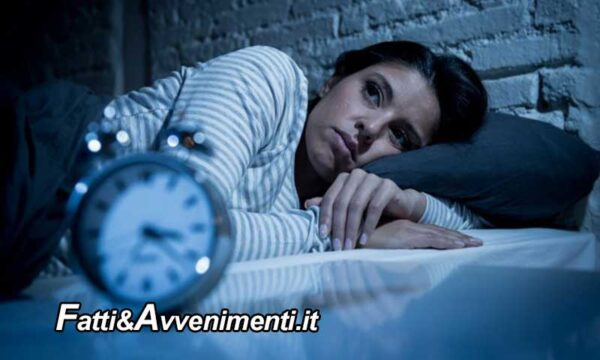 Salute & Benessere. Chi dorme male ed è sedentario è a rischio di mortalità: ecco perché
